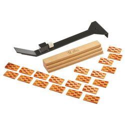 Dobijak do podłóg drewnianych z klockiem Magnusson 20 szt. klinów