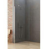 Ścianki prysznicowe, Ścianka prysznicowa 100 cm K-0460-WP New Soleo New Trendy DODATKOWY RABAT W SKLEPIE NA KABINĘ