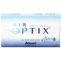 Soczewki kontaktowe, WYPRZEDAŻ - Air Optix Aqua 6 szt.