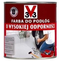Farba do podłóg V33 wysoka odporność jasny ceglasty 0 5 l