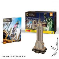 Puzzle, Puzzle 3D National Geographic Empire State Building