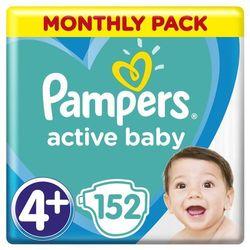 PAMPERS Active Baby 4 MAXI 152 szt. (8-14 kg) ZAPAS NA MIESIĄC - pieluchy jednorazowe