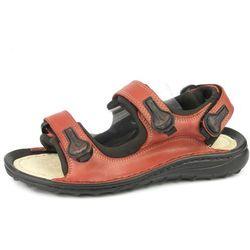 Sandały młodzieżowe KORNECKI 601 - czerwony