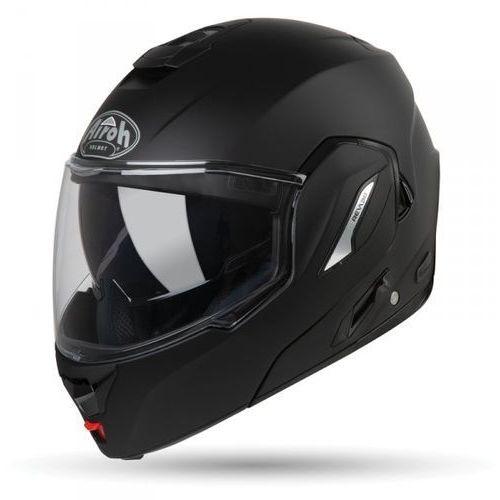 Kaski motocyklowe, KASK MODUŁOWY AIROH REV 19 COLOR BLACK MATT