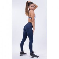 NEBBIA Spodnie BUBBLE BUTT PUSH UP N251 blue