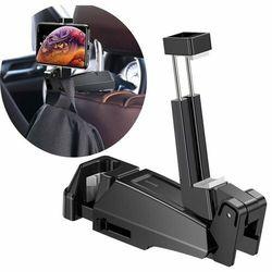 Baseus Backseat vehicle / Uchwyt do samochodu na tablet telefon na zagłówek hak wieszak 2w1