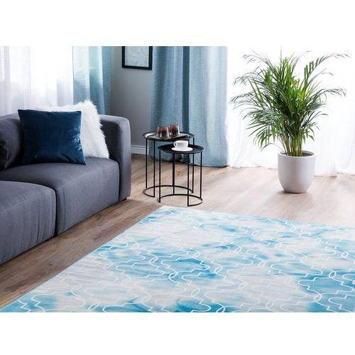 Dywany, Dywan jasnoniebieski 160 x 230 cm krótkowłosy ELAZIG