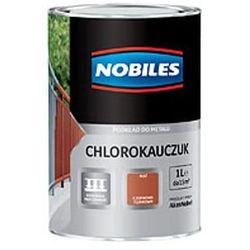 Podkład Nobiles Chlorokauczuk Czerwony tlenkowy 1l.