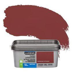 Farba wewnętrzna NARAŻONYCH NA ZABRUDZENIA 2.5 l Czerwone wytrawne LUXENS