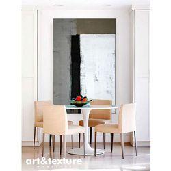 Malarstwo abstrakcyjne - duży obraz do salonu - gustowna geometria rabat 20%