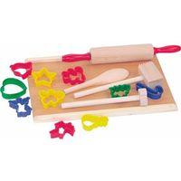 Zabawki z drewna, WOODY Zestaw kuchenny z foremkami. - BEZPŁATNY ODBIÓR: WROCŁAW!