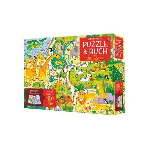 Puzzle, Puzzle und Buch: Im Zoo Robson, Kirsteen