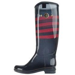 Tommy Hilfiger Oxbridge 7R1 Rain boots Niebieski 40 Przy zakupie powyżej 150 zł darmowa dostawa.