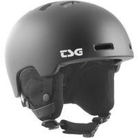 Kaski i gogle, kask TSG - arctic nipper mini solid color satin black (147) rozmiar: JXXS/JXS