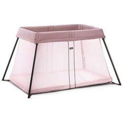 BABYBJORN - łóżeczko turystyczne LIGHT - różowy - Różowy
