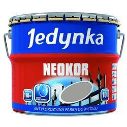 JEDYNKA NEOKOR- farba antykorozyjna, aluminiowa, 10 l