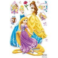 Naklejki na ściany, Naklejka Disney Princess - Księżniczki DF41311_outlet