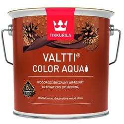TIKKURILA VALTTI COLOR AQUA-impregnat dekoracyjny do drewna, 2.7 l