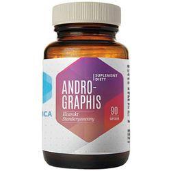 Wyciąg z liści andrografisu Andrographis ekstrakt standaryzowany 230mg 90 kapsułek Hepatica