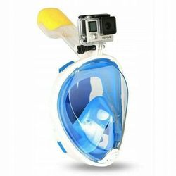 Maska do Nurkowania Pełnotwarzowa S\M - Niebieska