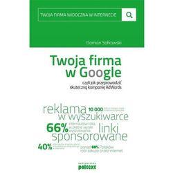 Twoja firma w Google (opr. broszurowa)