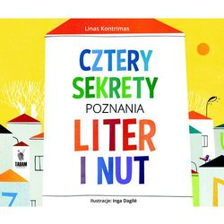 Cztery sekrety poznania liter i nut - LINAS KONTRIMAS (opr. twarda)
