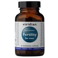 Witaminy i minerały, Płodność dla mężczyzn Fertilility for men 60 kapsułek Viridian