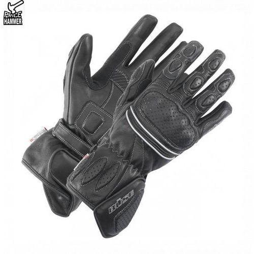 Rękawice motocyklowe, Rękawice motocyklowe damskie BUSE Pit Lane czarne