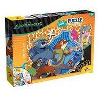 Puzzle, PUZZLE DWUSTRONNE 108 EL. ZWIERZOGRÓD. Darmowy odbiór w niemal 100 księgarniach!