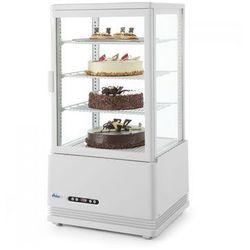Witryna chłodnicza nastawna 78 l biała HENDI 233641