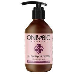 OnlyBio Fitosterol, 250 ml. Hipoalergiczny żel do mycia twarzy z olejem z rzepaku