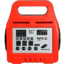Prostownik elektroniczny YATO YT-8301 + DARMOWY TRANSPORT!