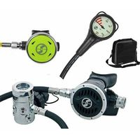 Automaty oddechowe, Automat Scubatech R 6 ICE zestaw I (automat+oktopus+manometr) - 10004-93
