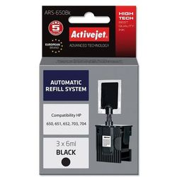 Zestaw do napełniania ACTIVEJET ARS-650Bk Zamiennik HP CZ101AE/F6V25AE/CD887AE/CN692AE