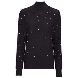 Sweter rozpinany Premium z kaszmirem bonprix jasnoróżowy