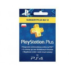 PlayStation Plus - abonament na 365 dni