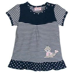 SALT AND PEPPER Baby Glück Girls Tunika Foka navy blue