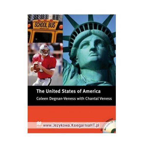 Książki do nauki języka, Macmillan Cultural Readers 4: The United States of America with CD (opr. miękka)