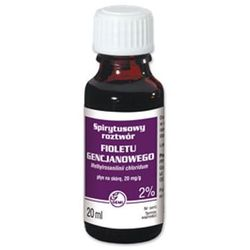GENCJANA Fiolet roztwór spirytusowy 2% 20ml