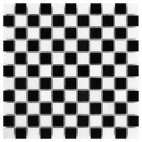 Kamień, DUNIN Black & White mozaika kamienna Pure B&W Mix 25