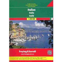 Włochy. Atlas samochodowy 1:200 000 (opr. miękka)