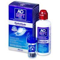 Płyny pielęgnacyjne do soczewek, AO SEPT PLUS HydraGlyde 90 ml