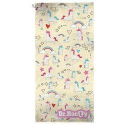 Ręcznik szybkoschnący Dr.Bacty XL Jednorożec Żółty - Jednorożec Żółty