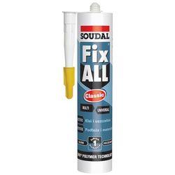 Soudal Klej Uszczelniacz Fix All CLASSIC 290 ml biały