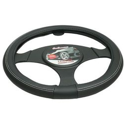Pokrowiec na kierownicę 37-39,5 Luxury czarny