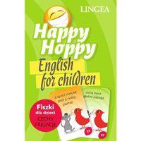 Literatura młodzieżowa, Happy Hoppy. Fiszki dla dzieci - angielski. Część 1 (opr. miękka)