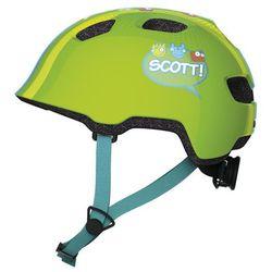Kask Scott Chomp green stripe - Zielony