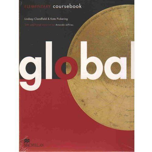 Książki do nauki języka, Global Elementary Książka Ucznia Plus E-Workbook (opr. miękka)