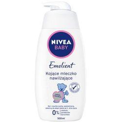 NIVEA 500ml Baby Pure and Sensitive Emolient Mleczko intensywnie nawilżające