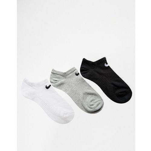 Skarpetki damskie, Nike 3 Pack Lightweight No Show Socks - Multi